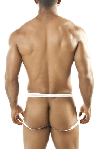 Joe Snyder White Mesh Hug Cheek Jock