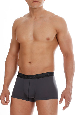 2-Pack Papi Charcoal & Black Performance Mesh Brazilian Trunks