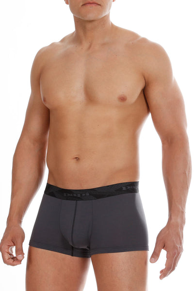2-Pack Papi Charcoal & Black Performance Mesh Brazilian Trunks - CheapUndies.com