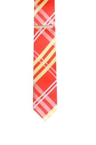 Skinny Tie Madness White Russian Tie