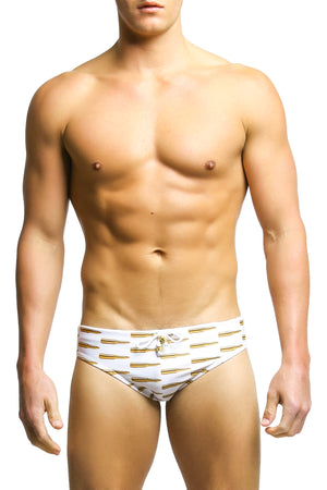 Radical Element White Ammo Luke Swim Brief