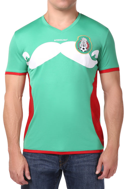 Spenglish Green Soccer 33 Tee - CheapUndies.com