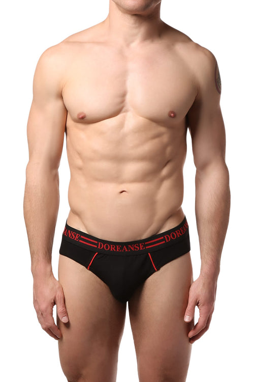 Doreanse Black Swift Brief - CheapUndies.com