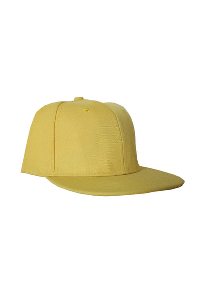 Project 7 Yellow Snapback Cap