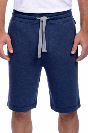 2(X)IST Denim-Heather French Terry Short
