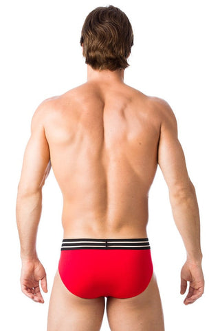 Gregg Homme Red Charged Brief