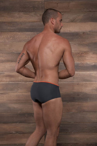 C-IN2 Dark Shadow Matte Brazilian Square Cut Swim Brief