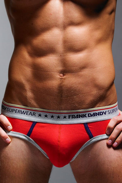 Frank Dandy Red Five Star Brief