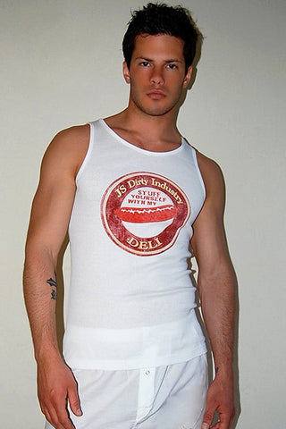 JS Dirty White Bodega Tank Top