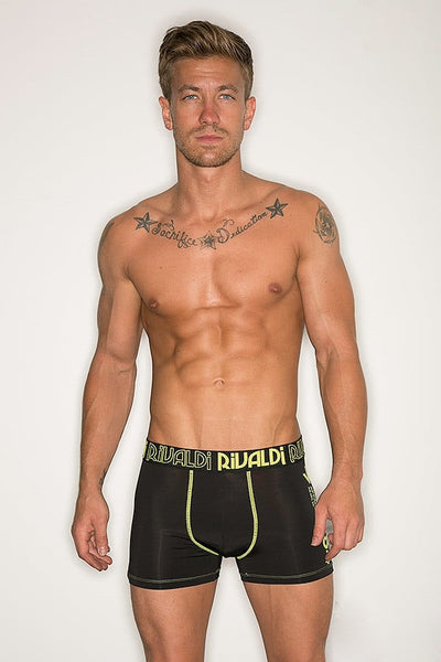 Rivaldi Black & Lime Acte Boxer Brief