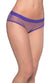 Oh La La Cheri Purple Open Back Fishnet Panty - CheapUndies.com