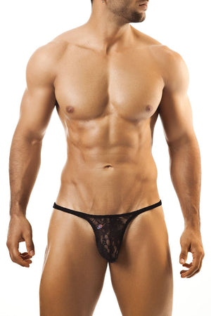 Joe Snyder Black Lace Tanga Rio Thong - CheapUndies.com