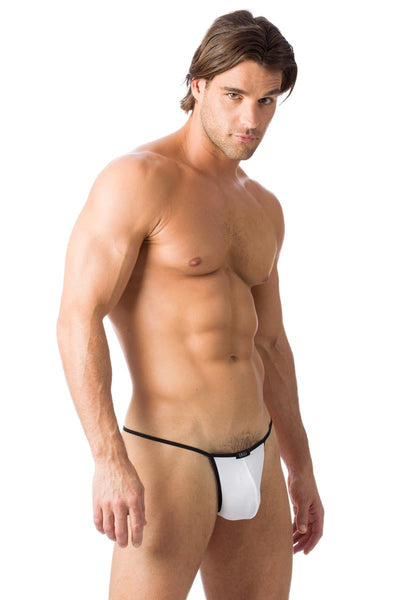 Gregg Homme White Charged G-String - CheapUndies.com
