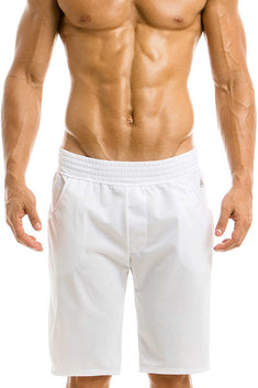 Modus Vivendi White Flash Color Sweatshorts