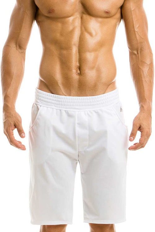 Modus Vivendi White Flash Color Sweatshorts - CheapUndies.com