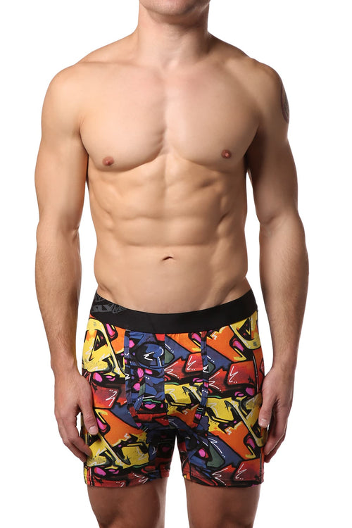 Sly Graffiti Boxer Brief - CheapUndies.com