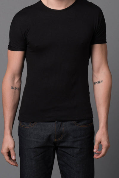 Rufskin Black Julian Tee - CheapUndies.com