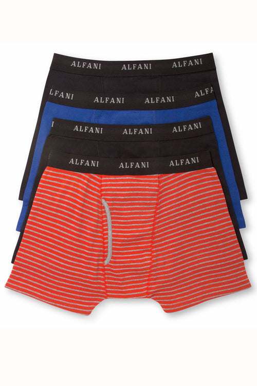 Alfani Feeder-Stripe Boxer Brief 4-Pack - CheapUndies.com