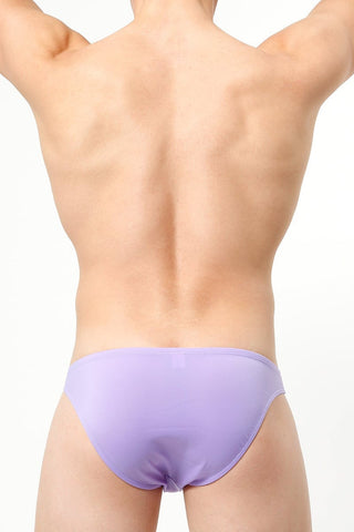 Manview Light Purple Smooth-Front Bikini