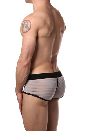 EppureLuca Grey Sergio Low-Rise Sport Brief