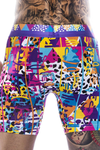 Togo Multi-Colored Surf Boxer