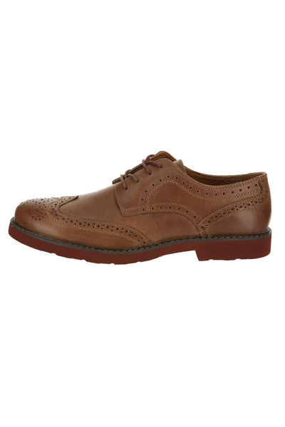 GBX Brown Bach Wing Tip Oxford