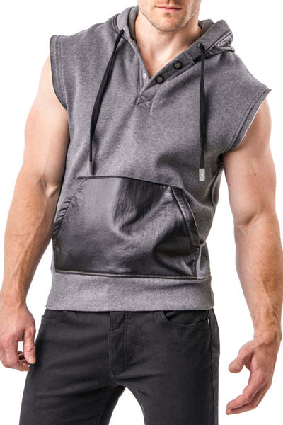Nasty Pig Charcoal Pickup Sleeveless Hoodie