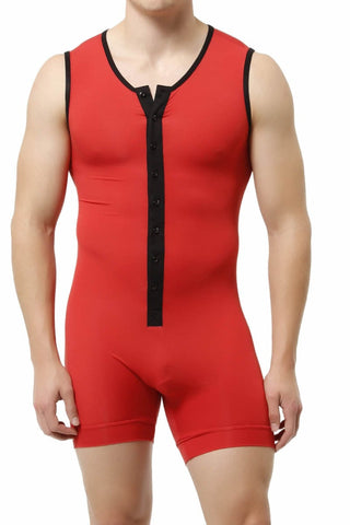 Trend Red Lounge Singlet