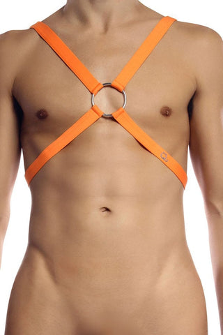 Petit-Q Orange Crossback Harness