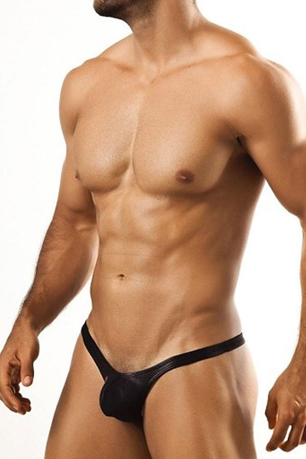 Joe Snyder Black Mesh Tanga Bul Thong - CheapUndies.com