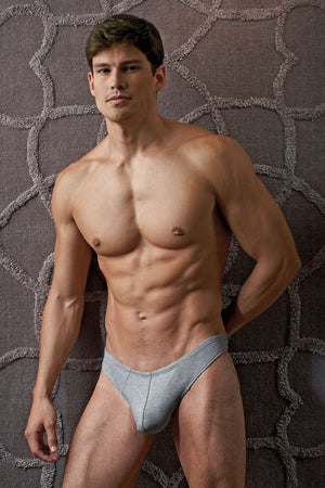 Contour Grey Luxe Jersey Thong