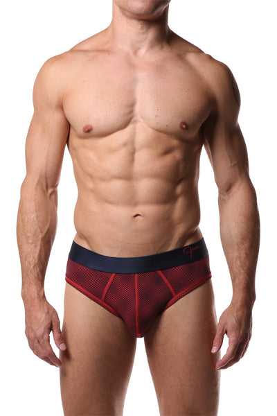 Jam Orange Print Brief - CheapUndies.com