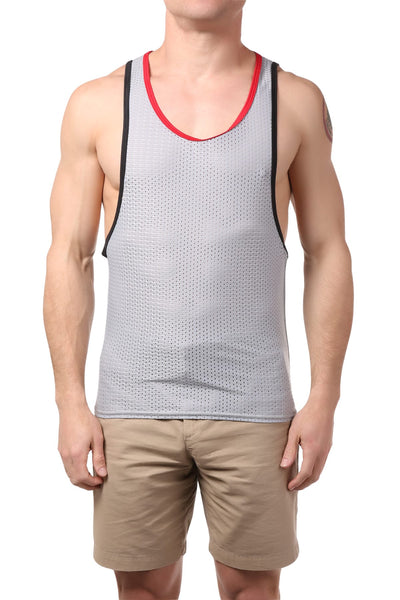 Gigo Grey Fresh Tank Top - CheapUndies.com