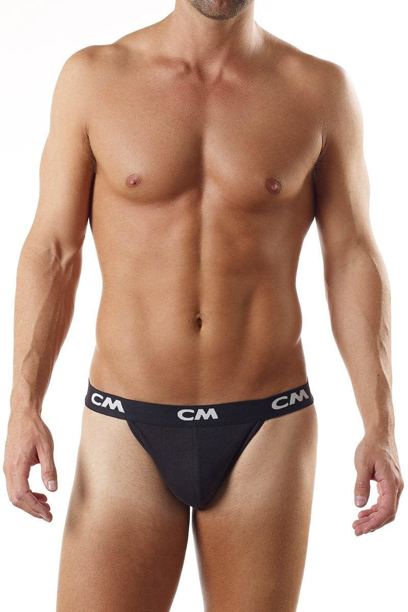 Cover Male Black Thong 3-Pack