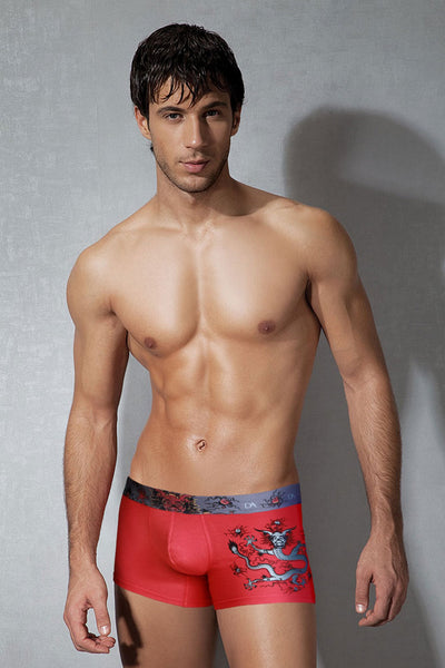 Doreanse Red Dragon Trunk - CheapUndies.com