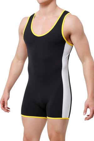CheapUndies Yellow Sport Singlet