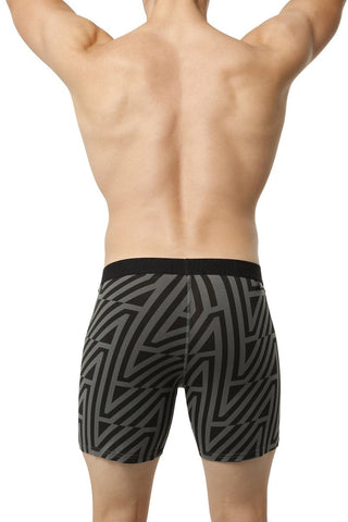 BR4SS 4 Zag Charcoal Boxer
