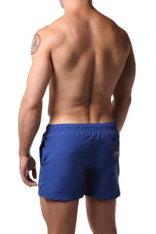 Datch Solid Dark Blue Gladiator Swim Short