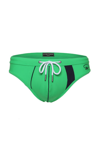 James Tudor Green & Navy Armada Swim Brief