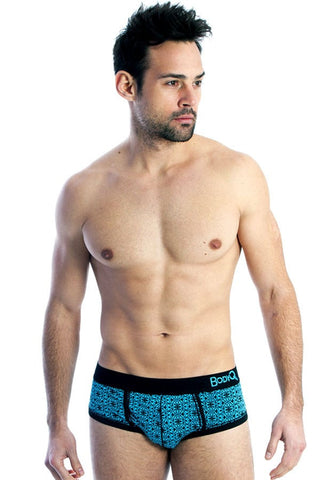BodyQ Black Fancy Brief