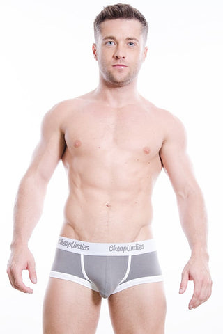 CheapUndies Grey Cotton Boxer