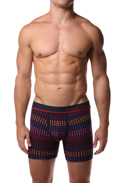 Unsimply Stitched Dot Row Boxer Brief - CheapUndies.com