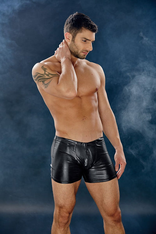 Extreme Collection Dungeon Black 2-Way Zip Trunk - CheapUndies.com