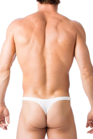 Gregg Homme White Charged Thong