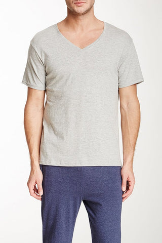 Bottoms Out Grey Classic V-Neck