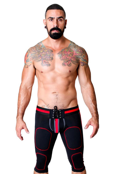 CellBlock 13 Black & Red Renegade Defender Jock Pant