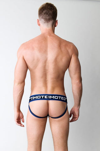 Timoteo White Double Crossed Jock Trainer