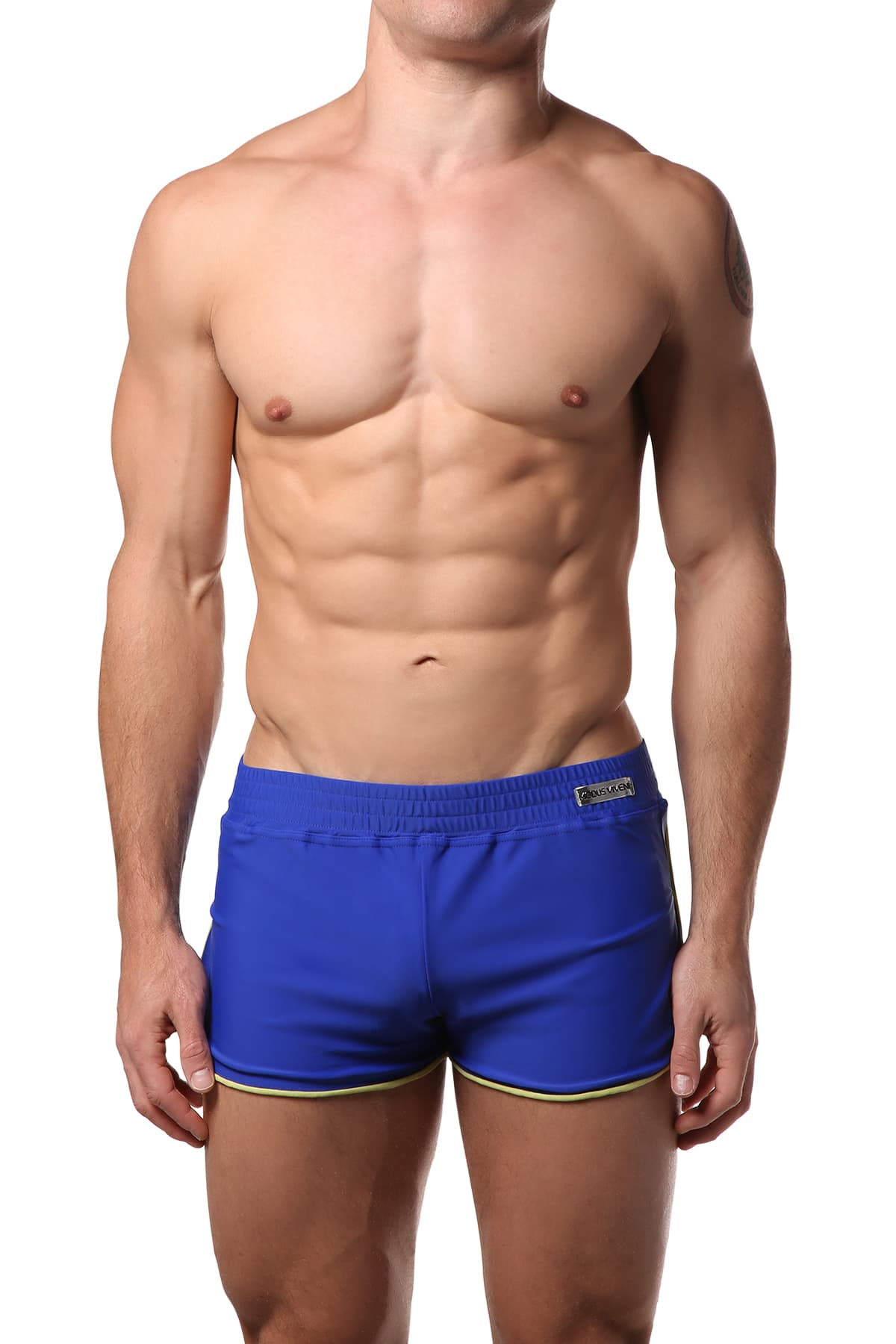 Modus Vivendi Blue & Yellow Swim Short Set