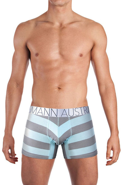 Mosmann Blue & Grey Comfort Boxer Brief