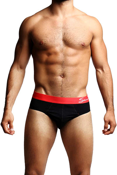2-Pack Seven7 Black Brief - CheapUndies.com